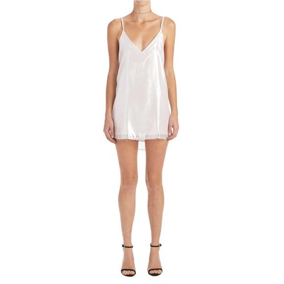 eeb8922fd870 Are You Am I Dresses & Skirts - Areyouami zillah slip dress silver sz S ayai